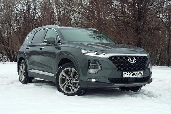 Примерный семьянин. Hyundai Santa Fe