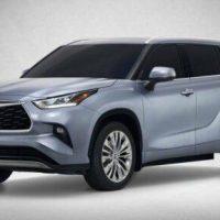 23035 Описание автомобиля Toyota Highlander 2019 - 2020