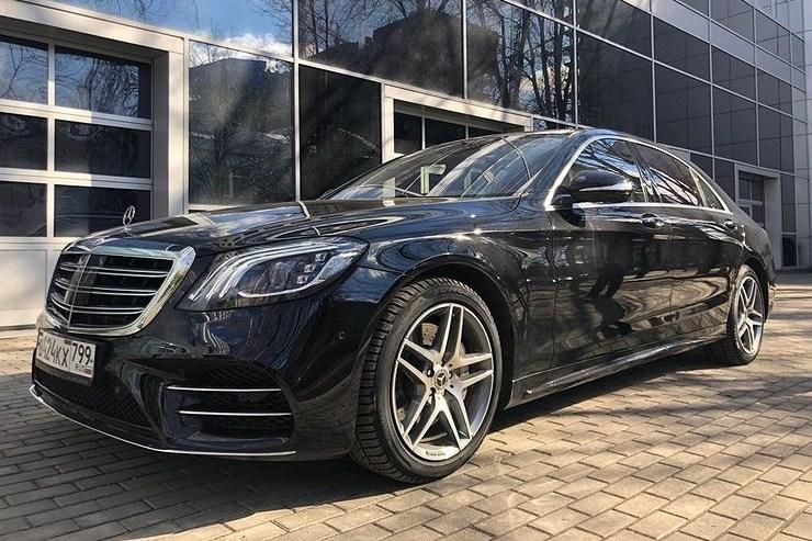 23079 Чем больше, тем лучше. Mercedes S-Class (W222)