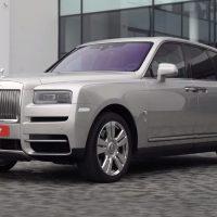 23054 Rolls-Royse Cullinan - самый роскошный кроссовер в мире. Rolls-Royce Cullinan