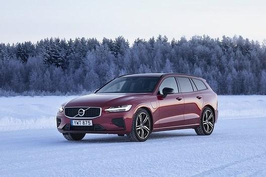 Села батарейка. Volvo V60
