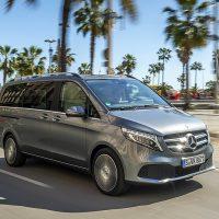 23130 V — значит V-Class. Mercedes V-Class (W447)