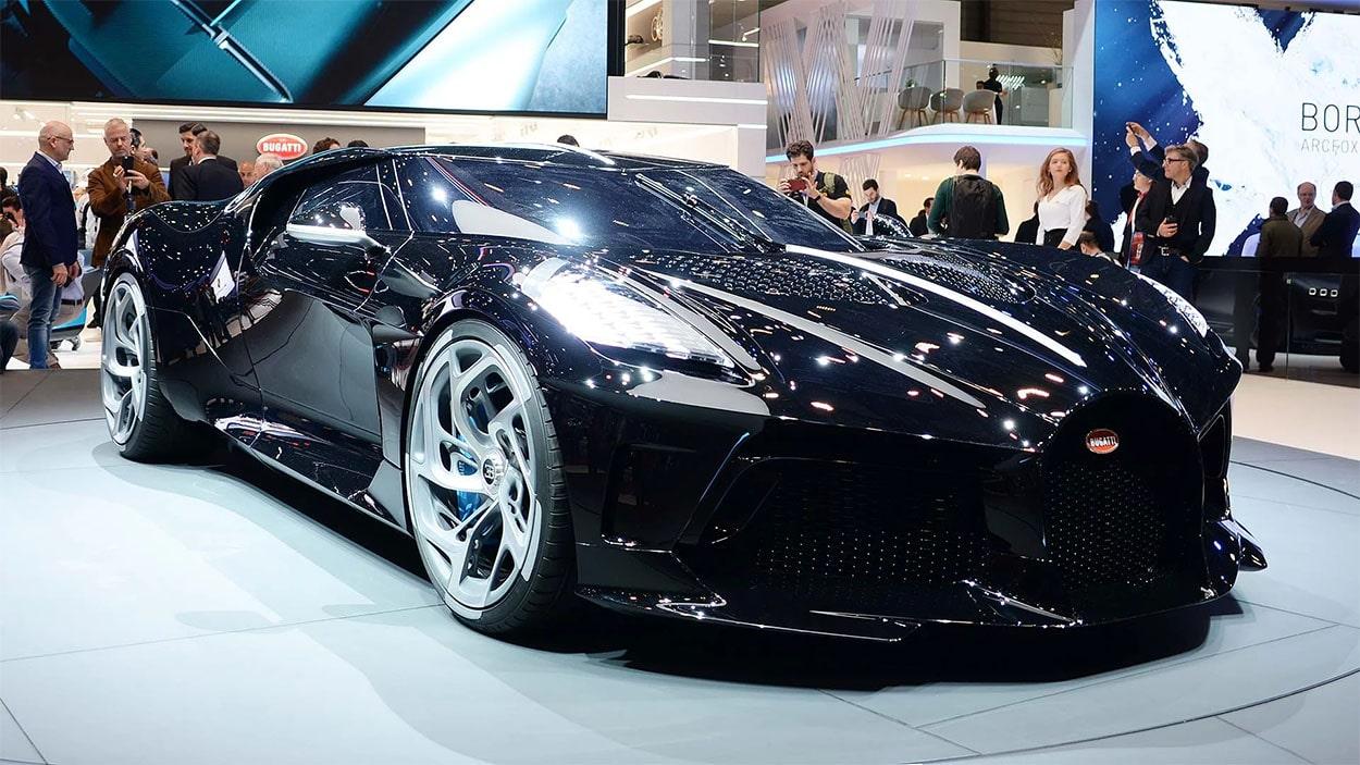 23165 Описание автомобиля Bugatti La Voiture Noire 2019 - 2020