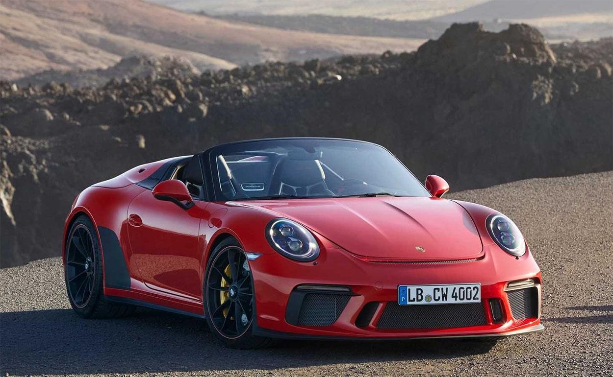 Описание автомобиля Porsche 911 Speedster 2019