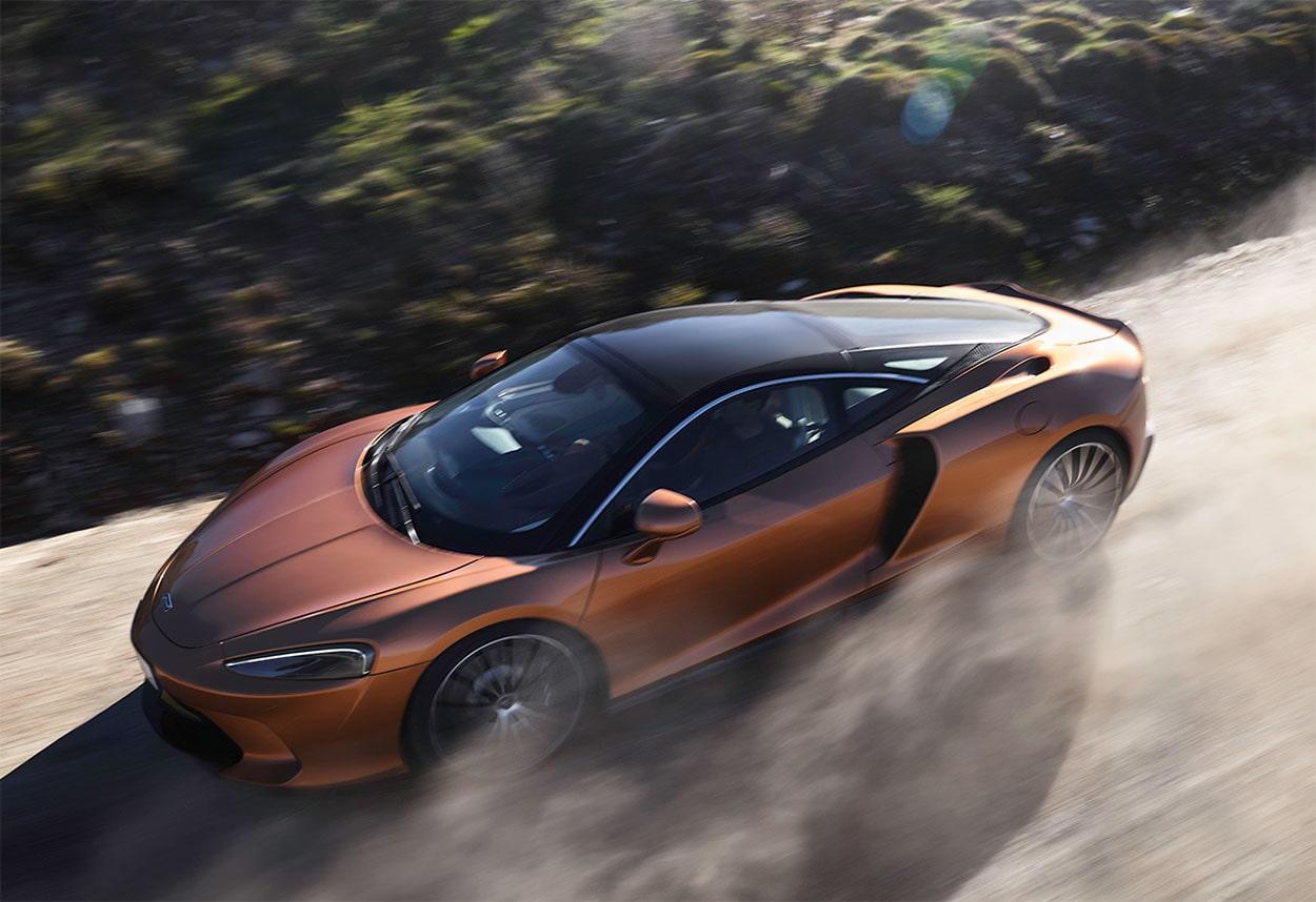 23241 Описание автомобиля McLaren GT 2019 - 2020