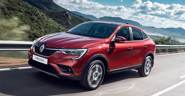 23296 Описание автомобиля Renault Arkana 2020