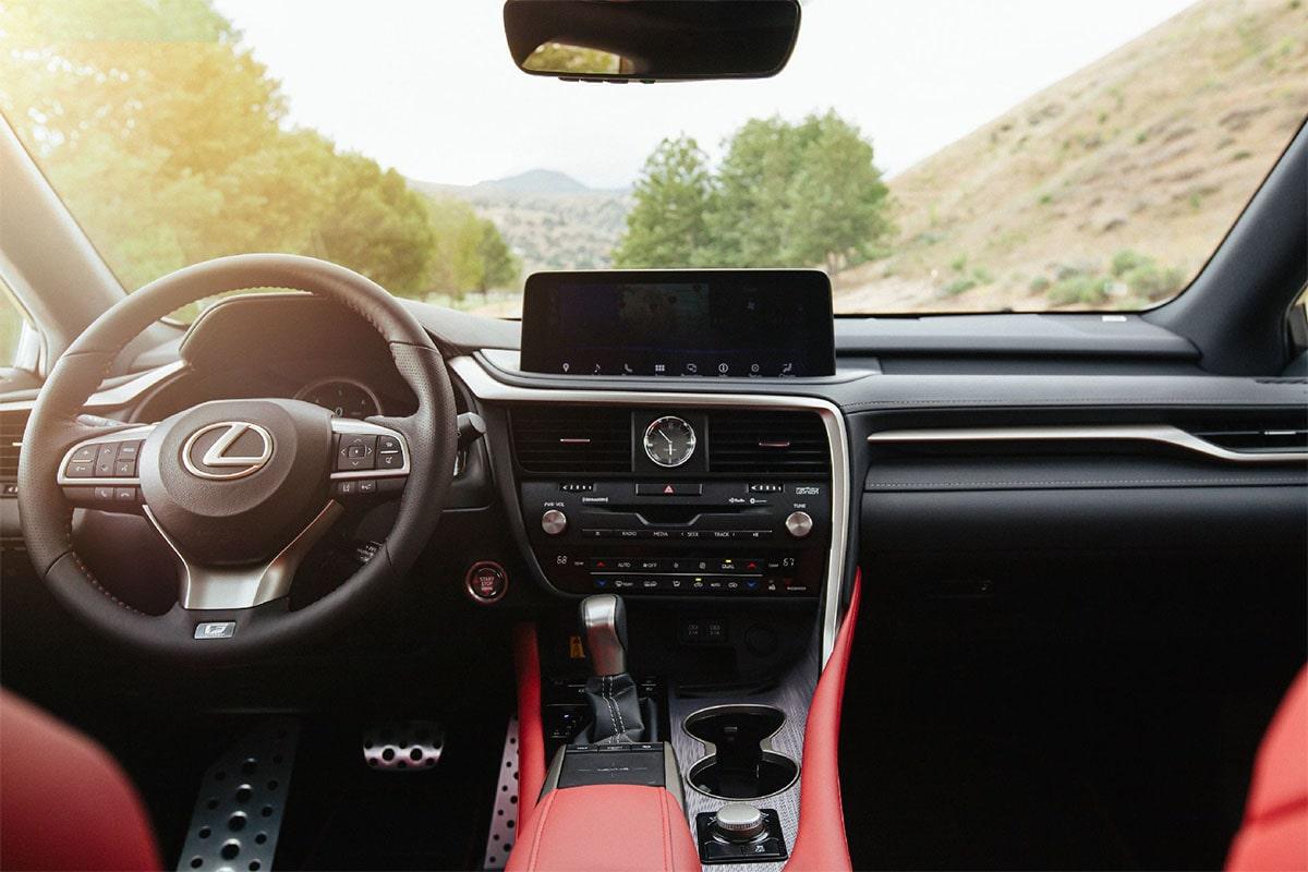 Описание автомобиля Lexus RX 2019 – 2020