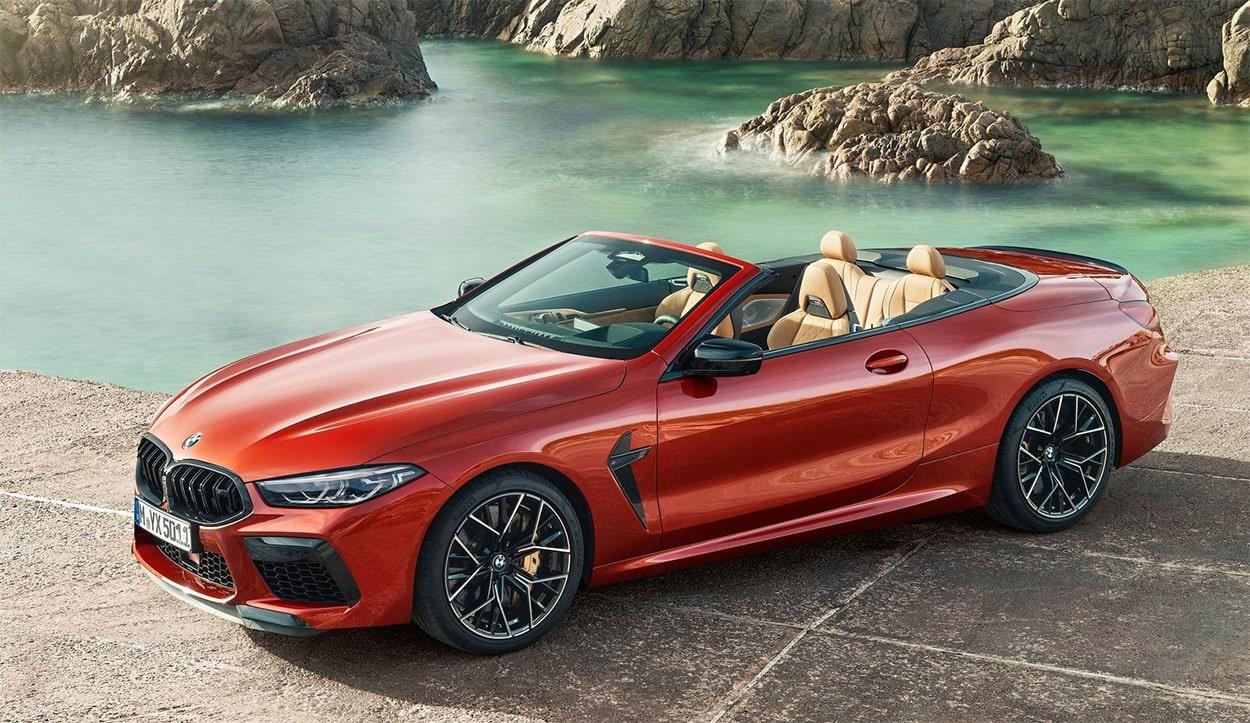 Описание автомобиля BMW M8 2019 – 2020