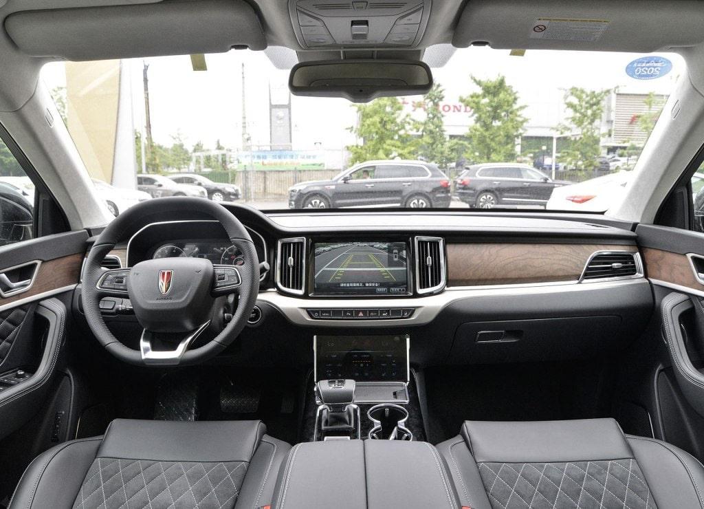 Описание автомобиля Hongqi HS7 2019