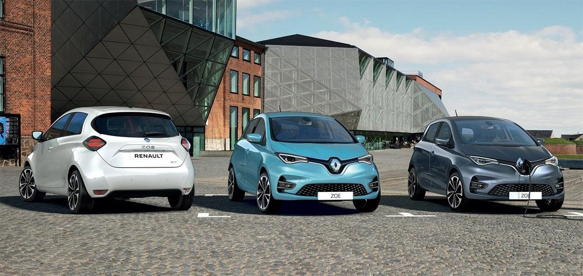 23502 Описание автомобиля Renault ZOE 2019 - 2020