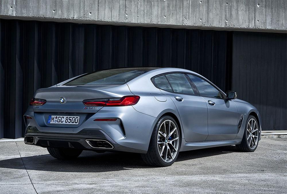 23531 Описание автомобиля BMW 8-Series Gran Coupe 2019
