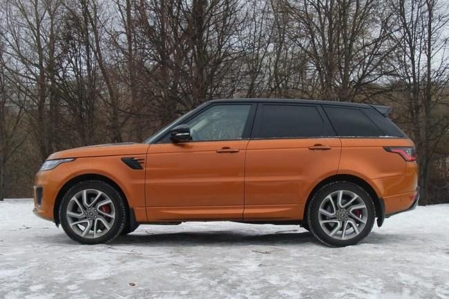 Конец золотой эпохи. Land Rover Range Rover Sport