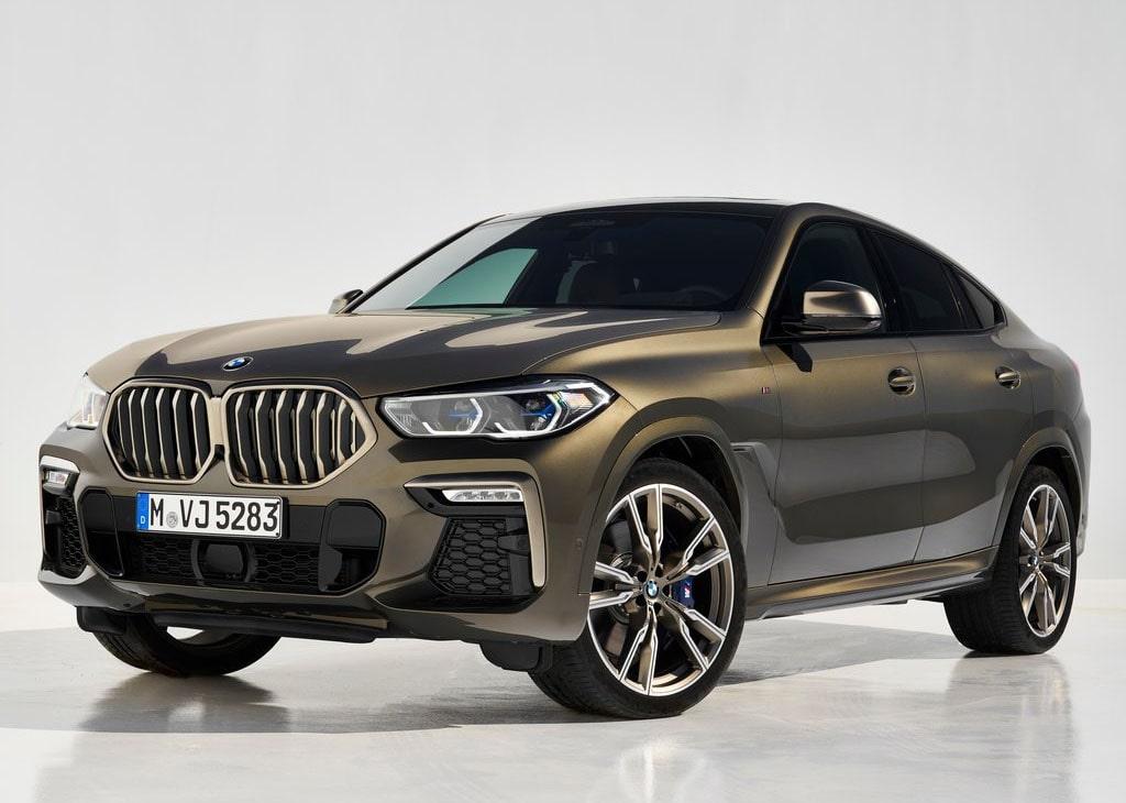 Описание автомобиля BMW X6 G06 2019 — 2020