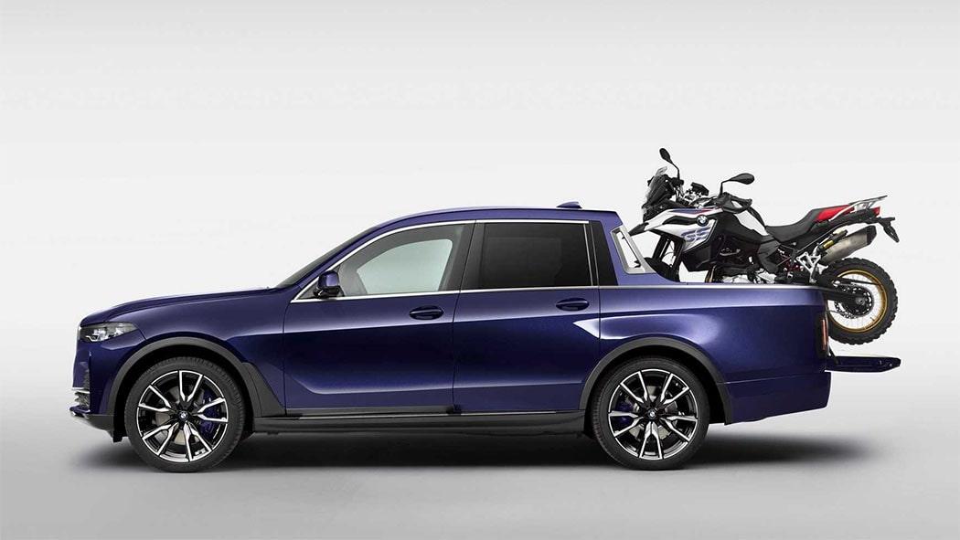 Описание автомобиля BMW X7 Pick-up 2019 — 2020