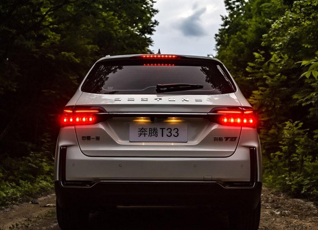 Описание автомобиля FAW Bestune T33 2019 – 2020