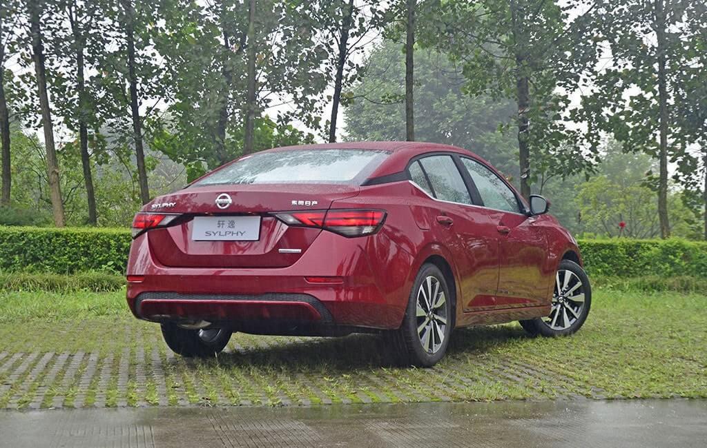 Описание автомобиля Nissan Sylphy 2019 – 2020