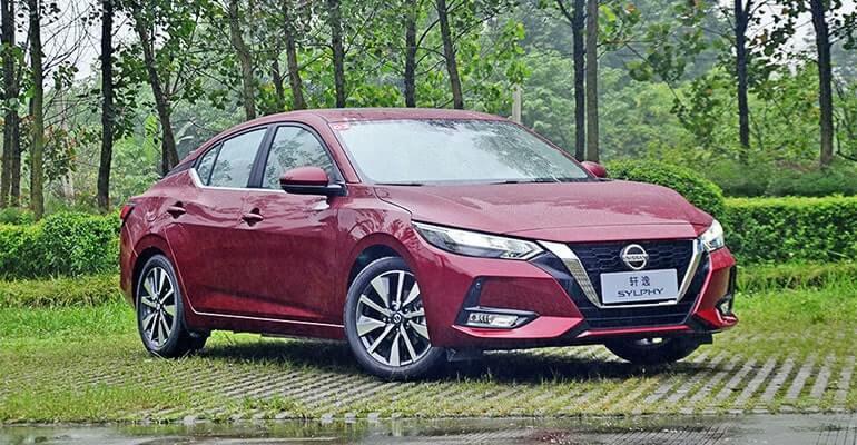 23749 Описание автомобиля Nissan Sylphy 2019 - 2020