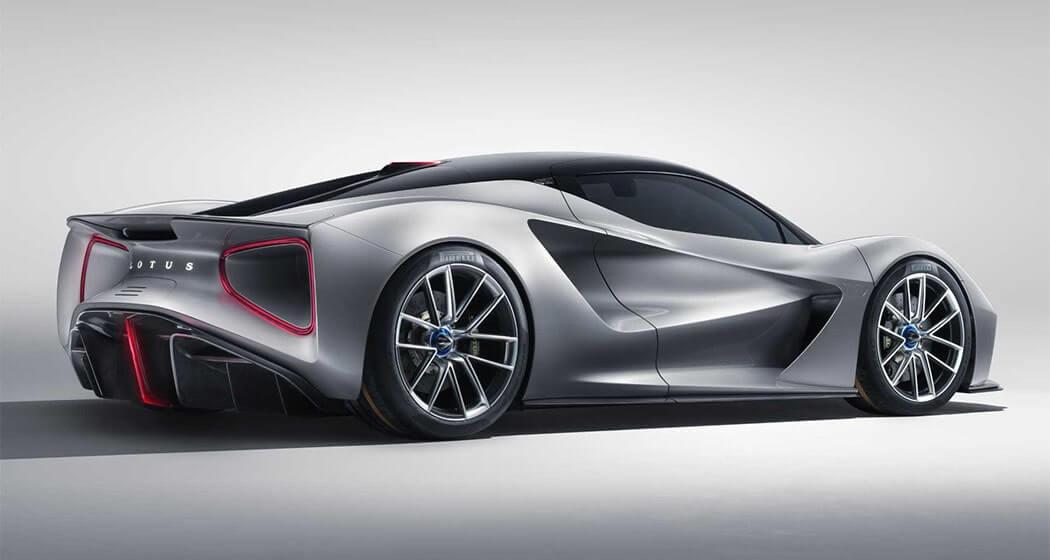 Описание автомобиля Lotus Evija 2019 – 2020