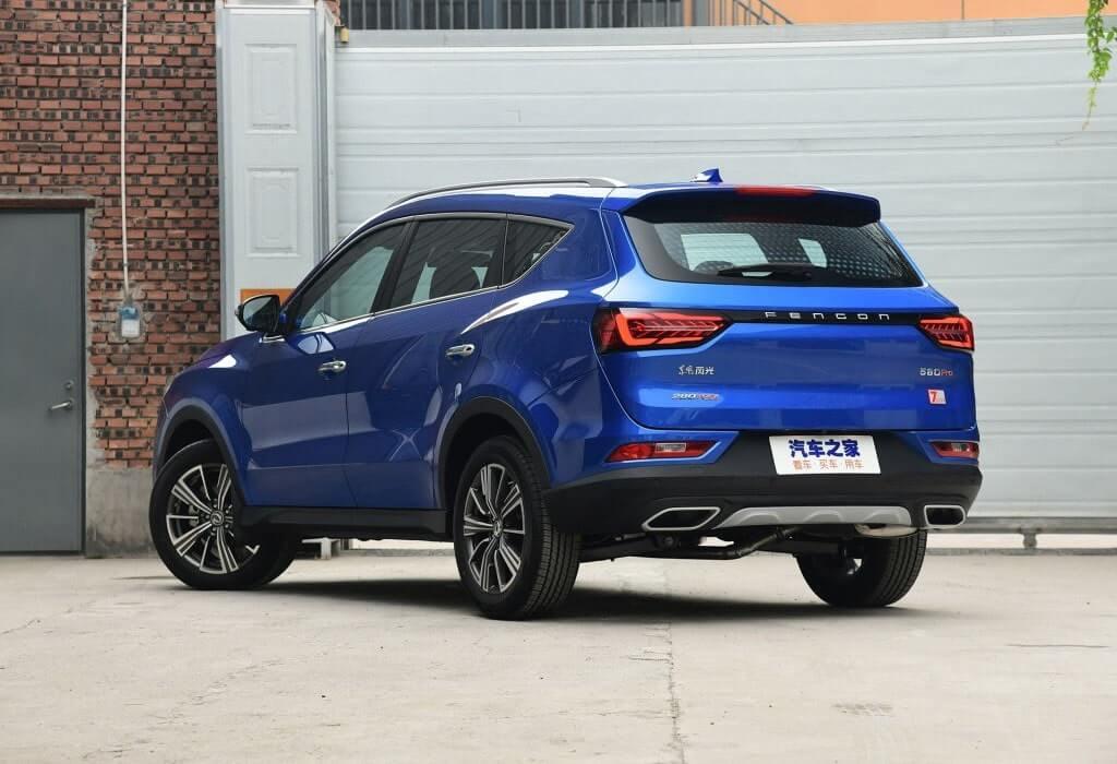 Описание автомобиля Dongfeng 580 Pro 2019 – 2020