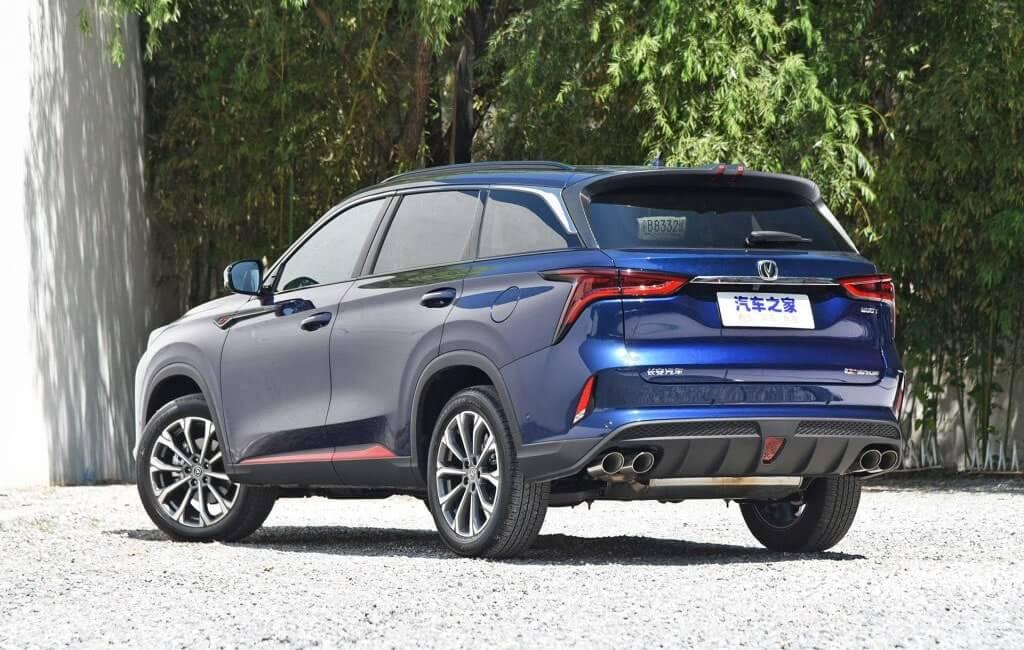Описание автомобиля Changan CS75 Plus 2019