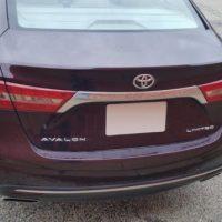 Благородная старость в квадрате. Toyota Avalon