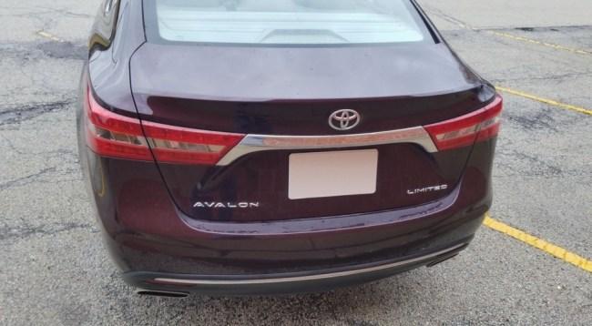 23609 Благородная старость в квадрате. Toyota Avalon