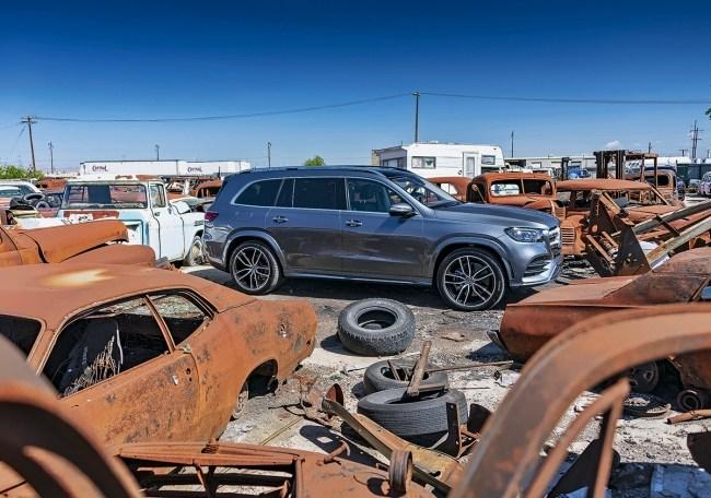 23847 Матрица сломалась. Mercedes GLS-Class (X167)
