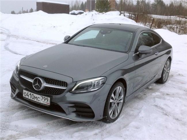 Запах женщины. Mercedes C-Class Coupe (С205)