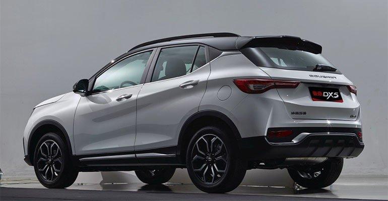 Описание автомобиля SouEast DX5 2019