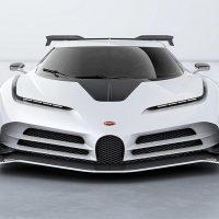 Описание автомобиля Bugatti Centodieci 2020