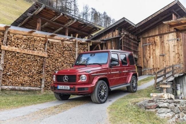 Икона. Mercedes G-Class (W463)