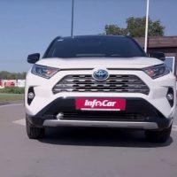 Новый Toyota RAV4 Hybrid – почти идеальный?. Toyota RAV4 Hybrid