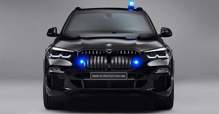 Описание автомобиля BMW X5 Protection VR6 2020