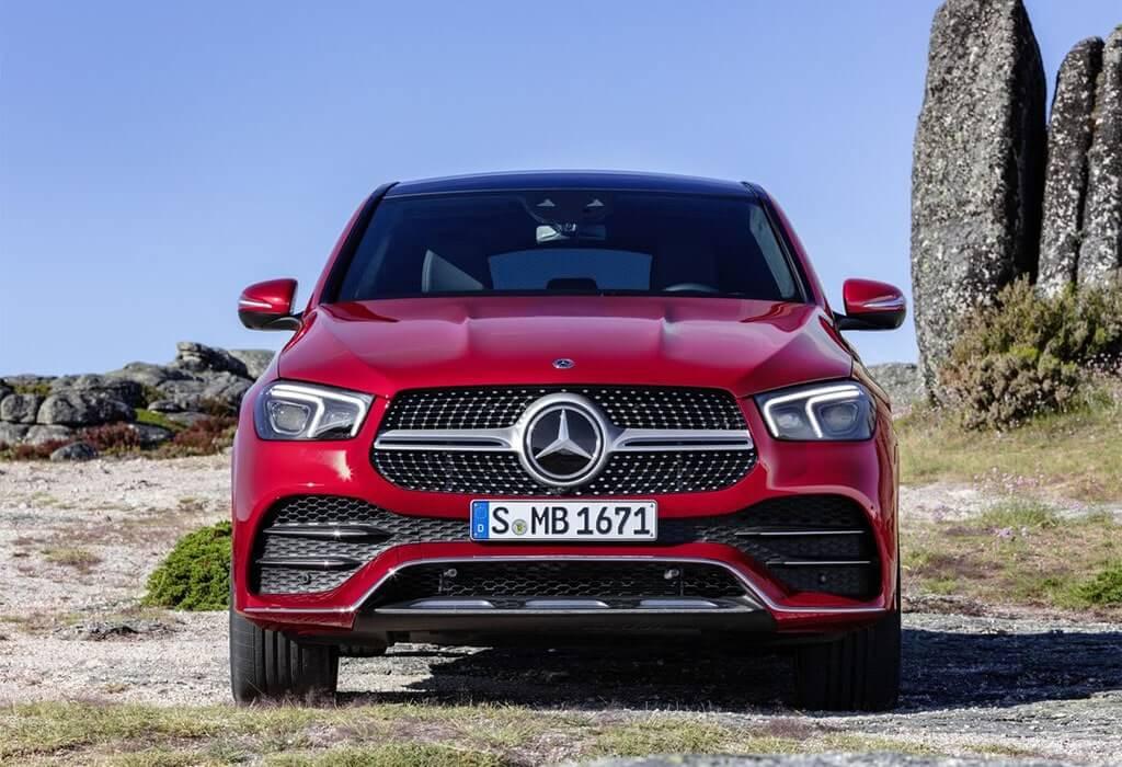 24033 Описание автомобиля Mercedes GLE Coupe 2020