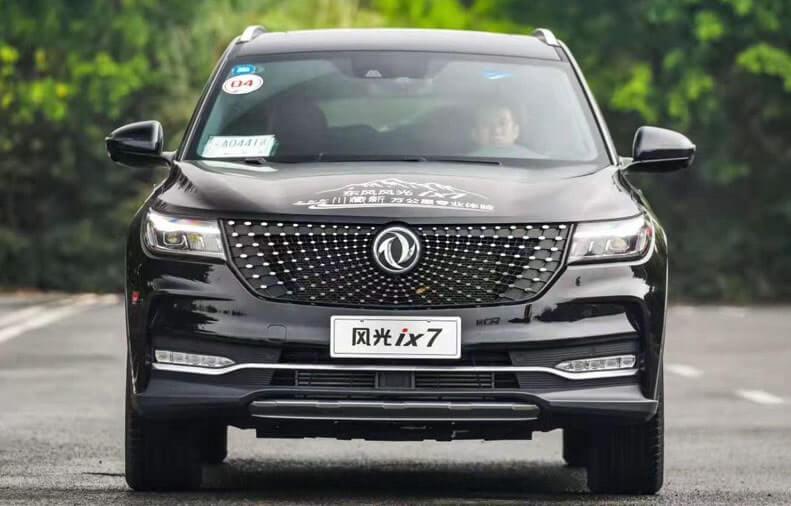 24070 Описание автомобиля Dongfeng ix7 2019 - 2020
