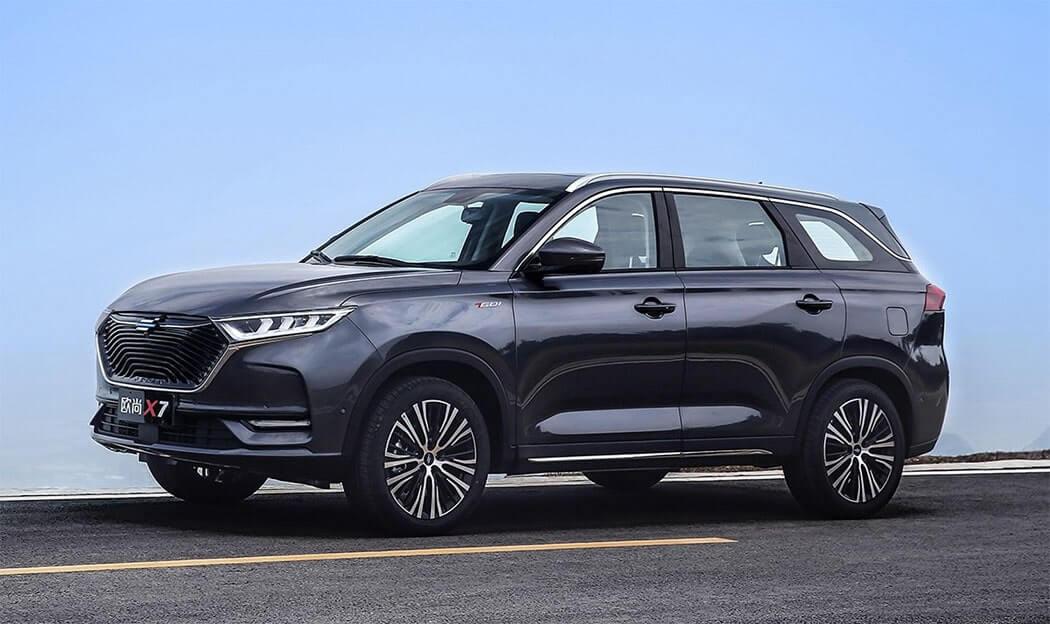 Описание автомобиля Changan Oshan X7 2019