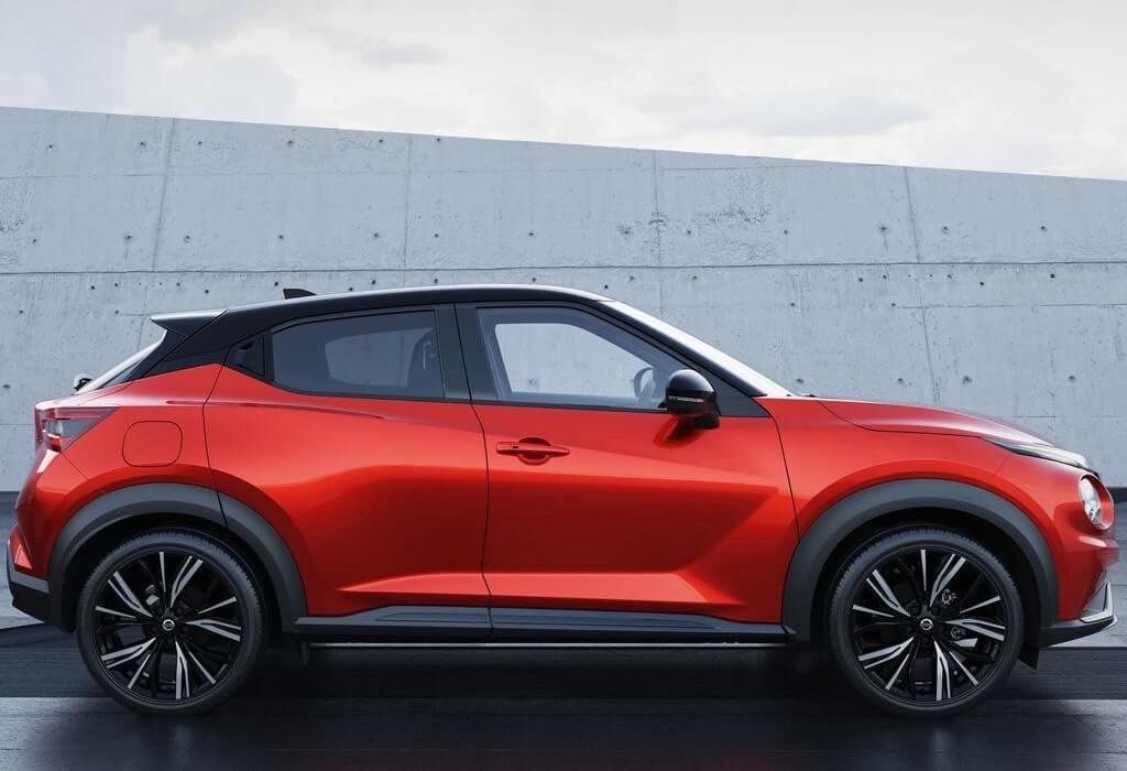 Описание автомоблия Nissan Juke 2020