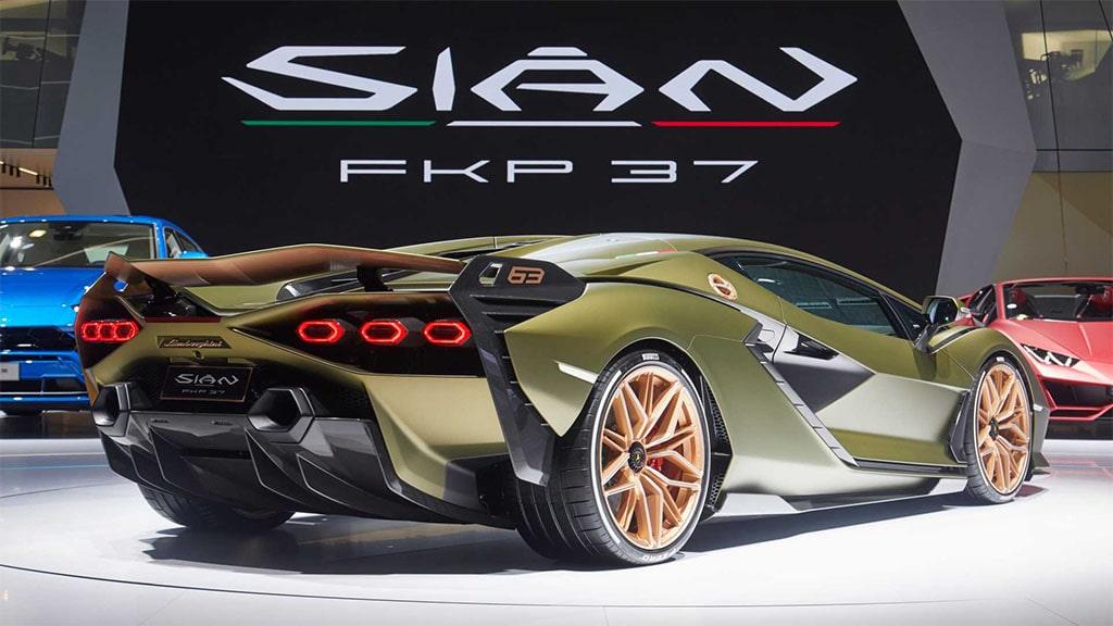 Описание автомобиля Lamborghini Sian 2020