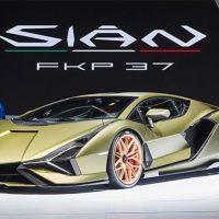 24188 Описание автомобиля Lamborghini Sian 2020