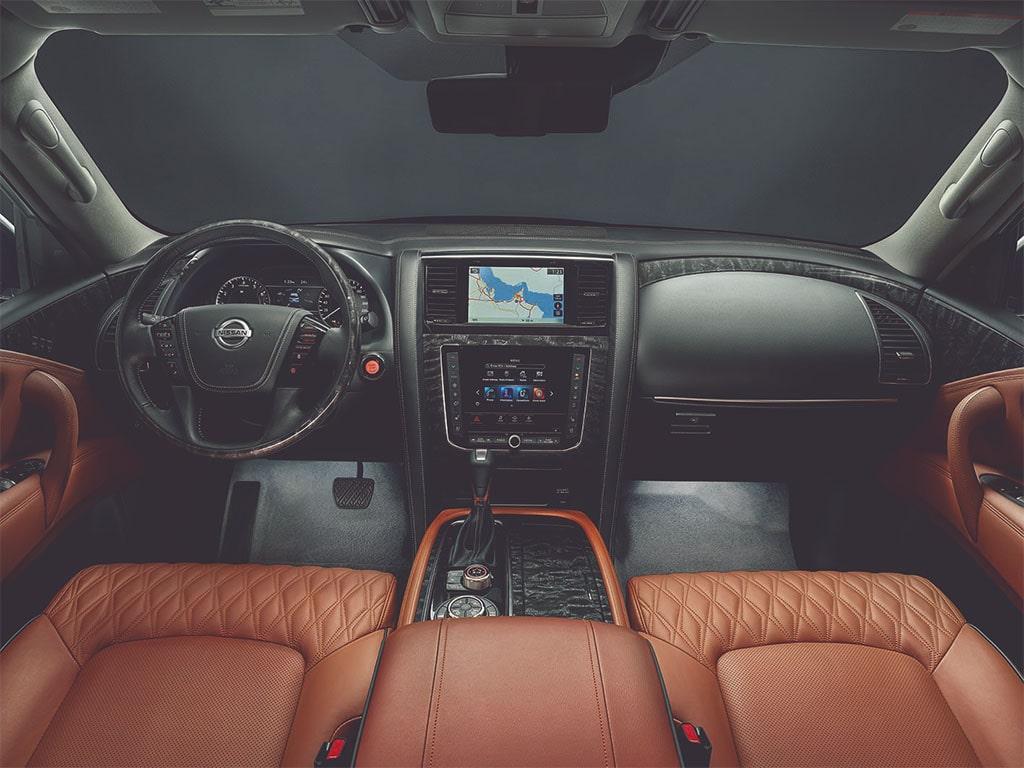 Описание автомобиля Nissan Patrol 2019 – 2020