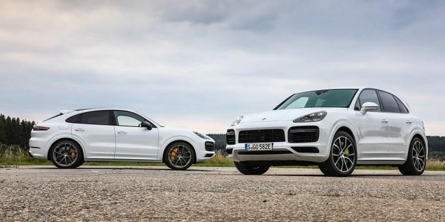 Мощнее, чем Lamborghini. Porsche Cayenne Turbo E-Hybrid