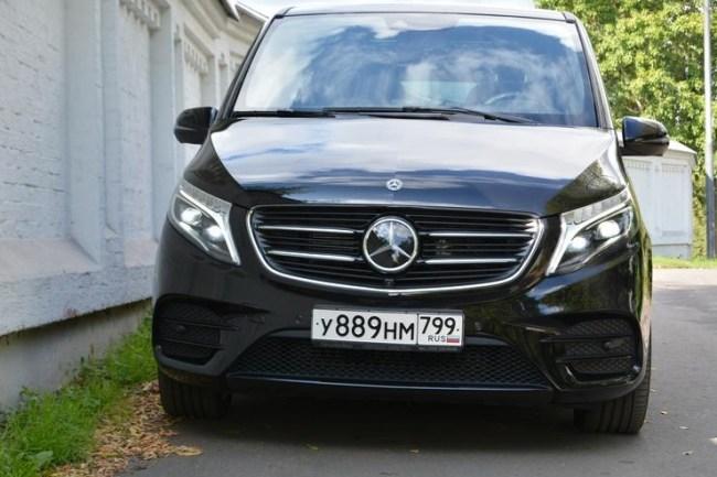24136 Оперный «бас». Mercedes V-Class (W447)