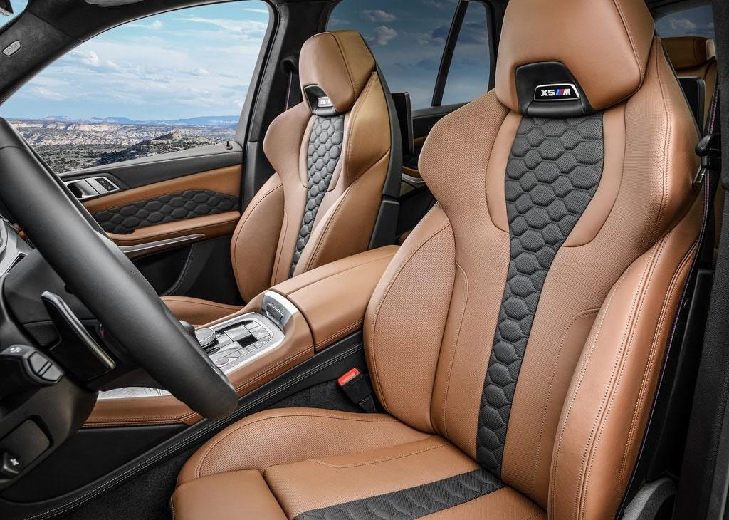 Описание автомобиля BMW X5 M и BMW X6 M 2020