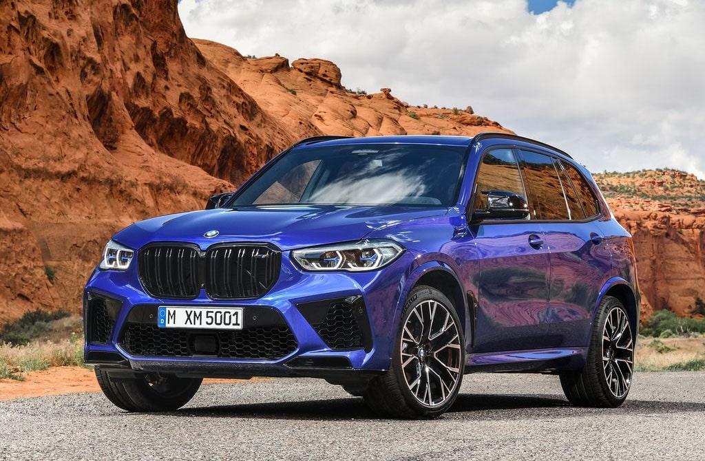 24317 Описание автомобиля BMW X5 M и BMW X6 M 2020
