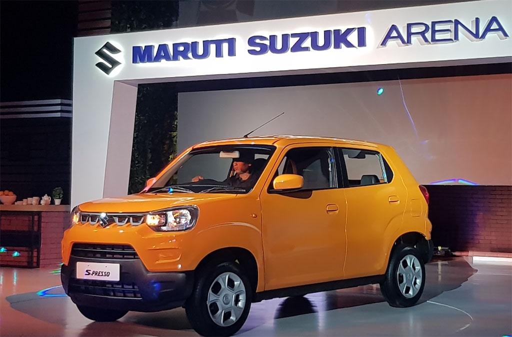 Описание автомобиля Suzuki S-Presso 2019