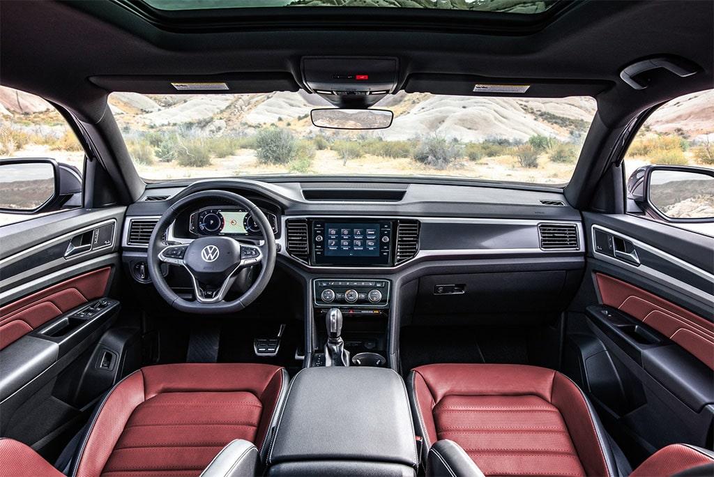 Описание автомобиля Volkswagen Atlas Cross Sport 2020