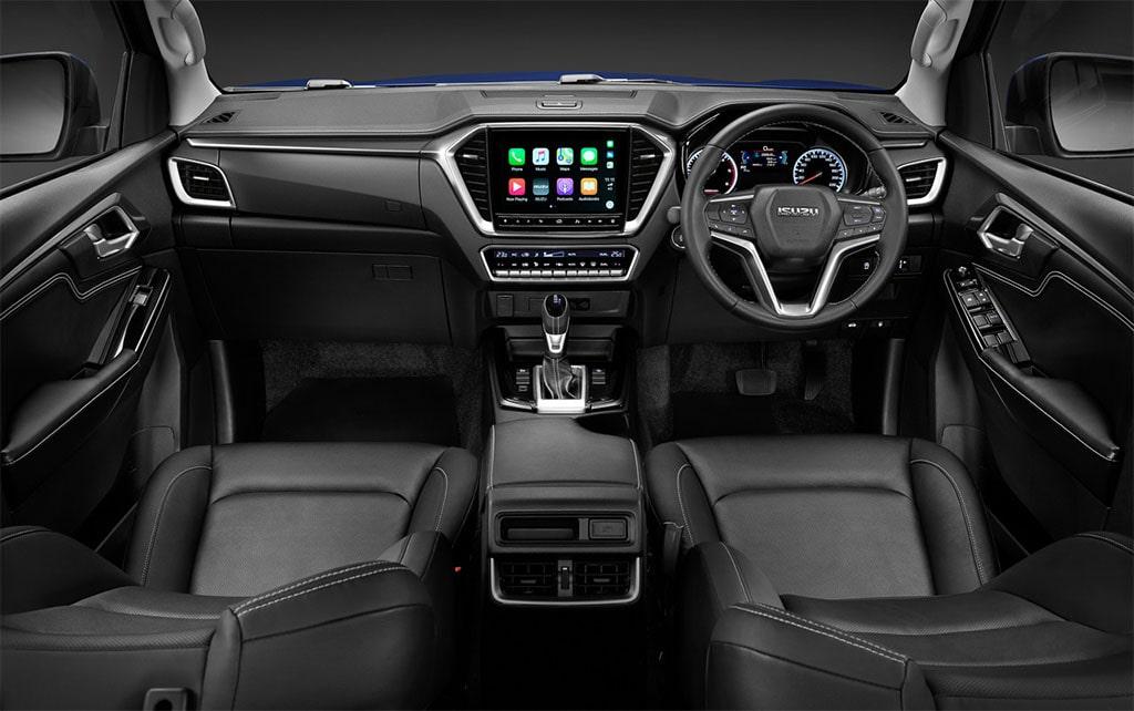 Описание автомобиля Isuzu D-Max 2020