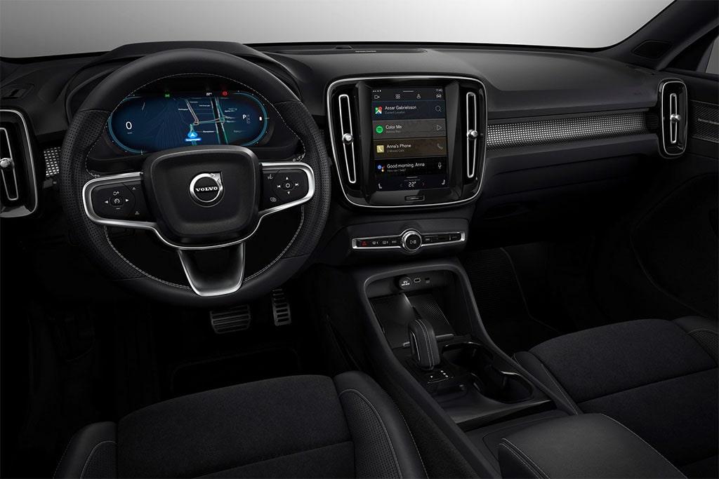 Описание автомобиля Volvo XC40 Recharge 2020