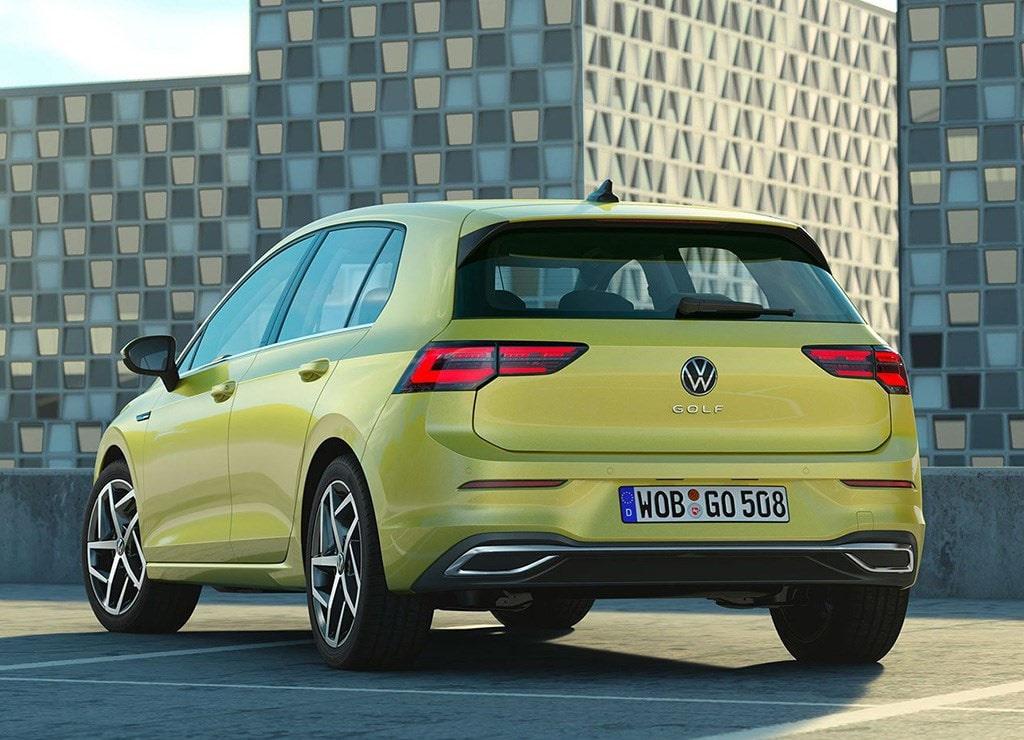 Описание автомобиля Volkswagen Golf 8 2020