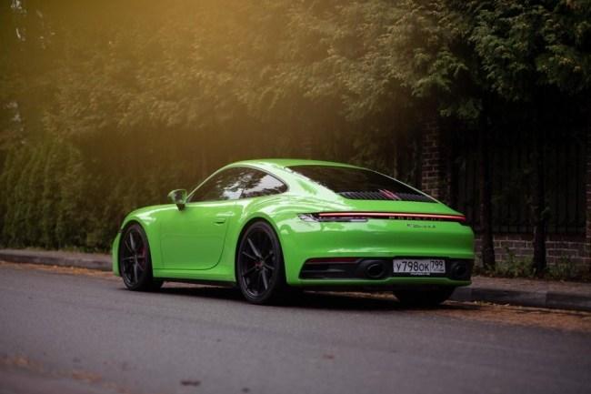 24451 Быстро рассматриваем, знакомимся и едем. Porsche 911 Carrera